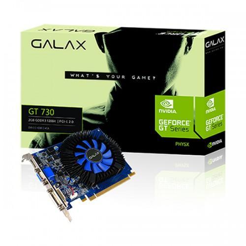Bán Card Man Hinh Vga Galax Gt 730 2Gb Ddr3 128 Bit