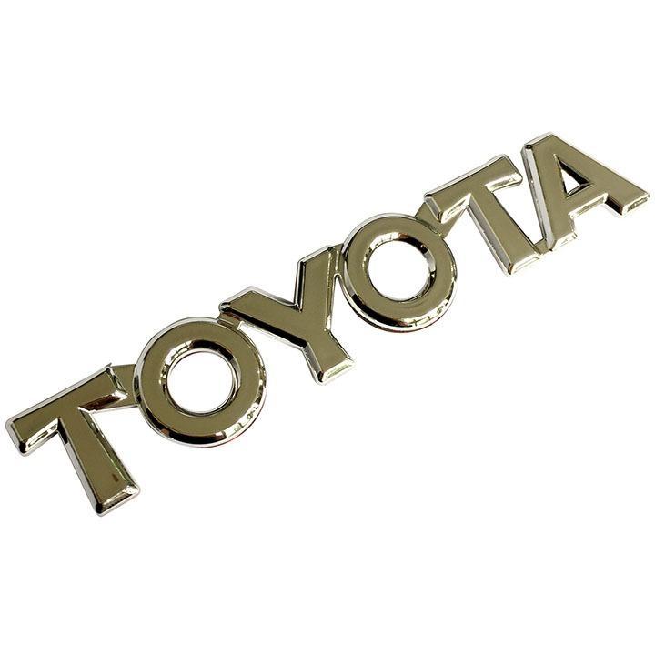 Giá Bán Tem Logo Chữ Nổi Toyota Dan Trang Tri Xe To1 Rẻ