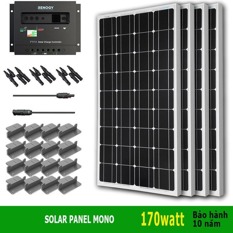 Hình ảnh Tấm thu năng lượng mặt trời 170W Mono Solar