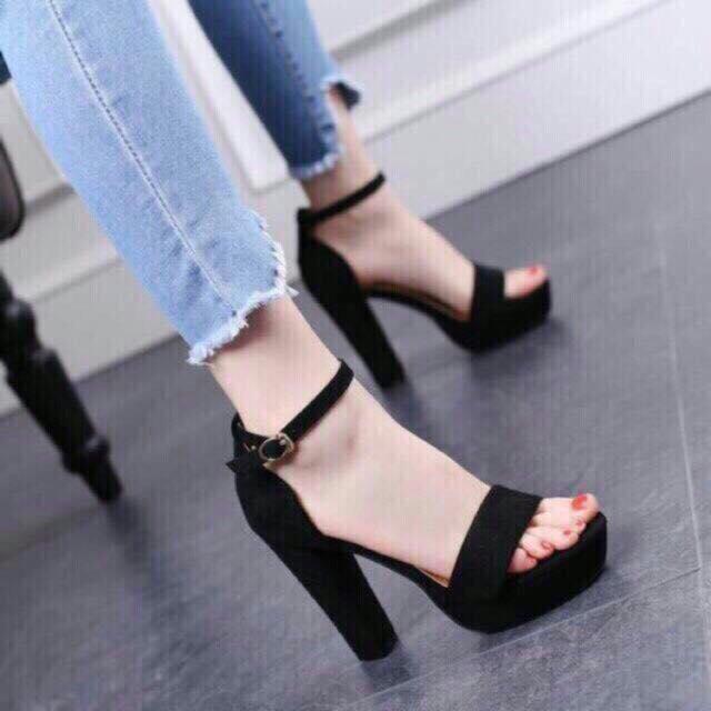 Mua Sandal Da Lộn Đế 11P Chất Cực Đẹp Ảnh Va Deo Thật Tại Shop