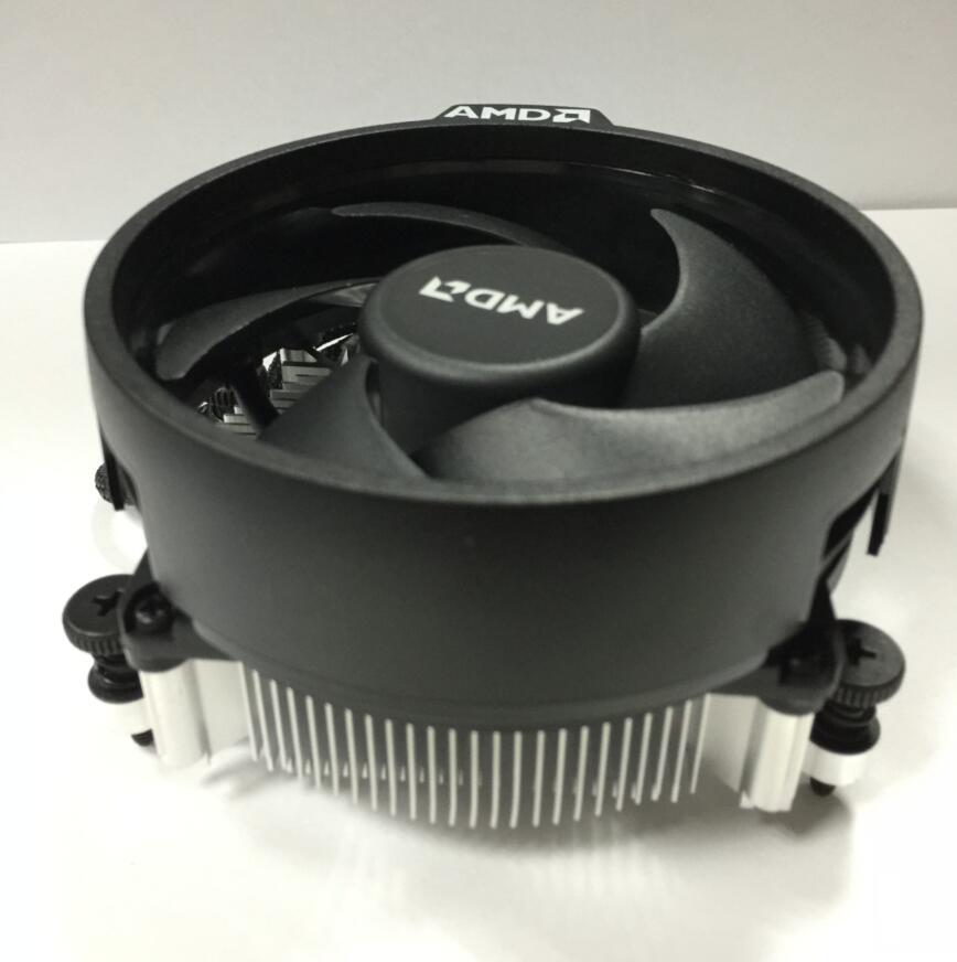 AMD Ryzen Kotak Kipas Angin Pendingin Asli Prosesor Radiator Pendingin Penggemar 4 P Radiator AM4 Yang Kipas Radiator Cpu Kipas Asli-Intl