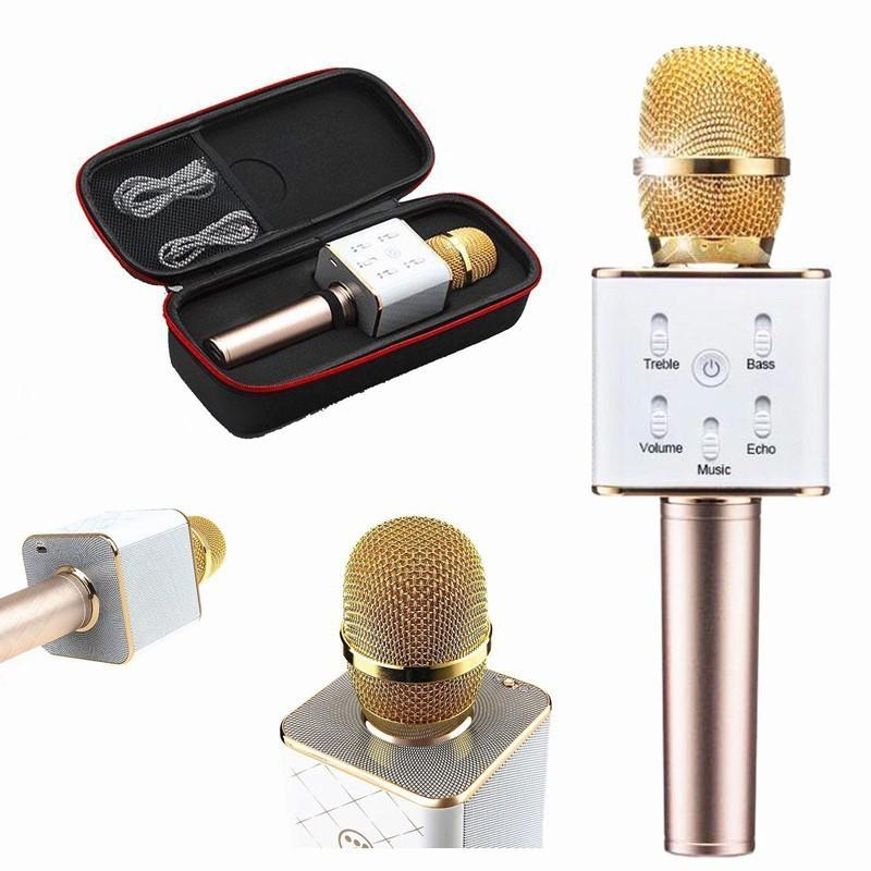 Bán Mua Trực Tuyến Micro Hat Karaoke Tich Hợp Loa Bluetooth Q7