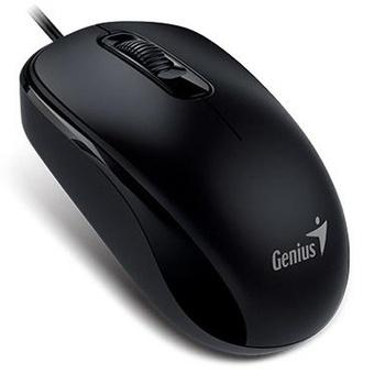 Chuột quang có dây Genius GENIUS DX-110 (Màu đen, Trắng)