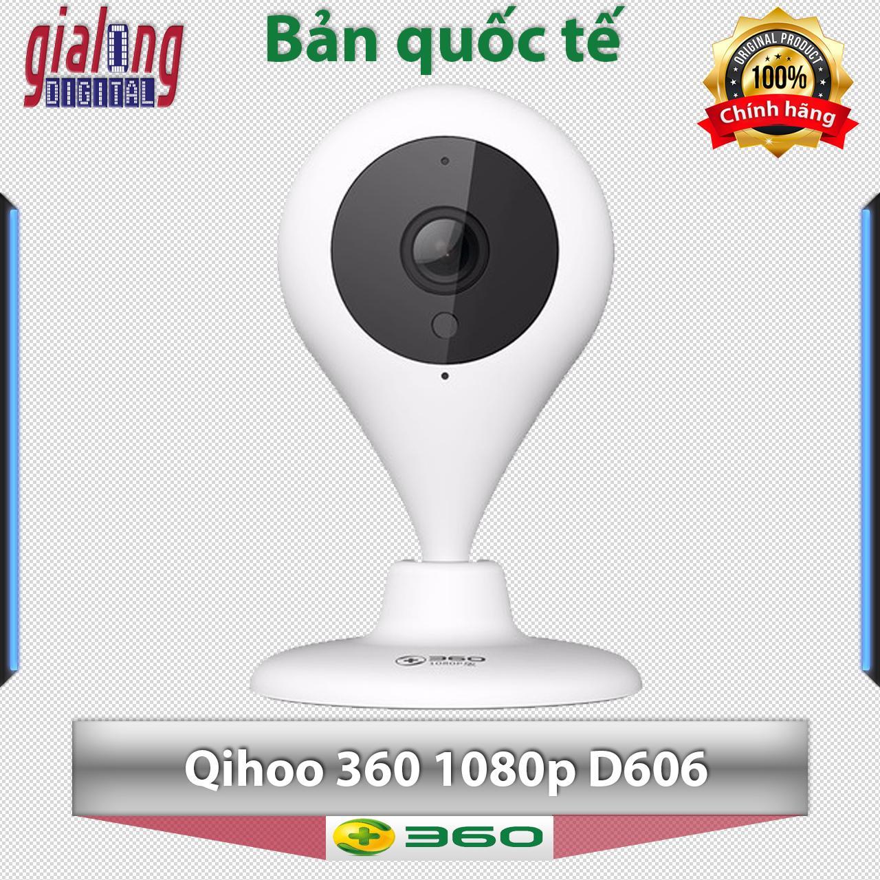 Mua Camera Giam Sat Khong Day Wifi Qihoo 360 1080P Phien Bản Quốc Tế Qihoo 360 Nguyên
