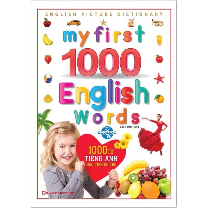 Mua My First 1000 English Words - 1000 từ tiếng anh đầu tiên cho bé (Bìa Cứng kèm CD)