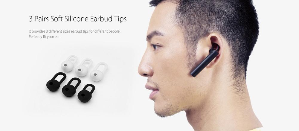 Original Xiaomi Mi LYEJ02LM Bluetooth Headset Built-in Mic Multifunctional On-cord Control