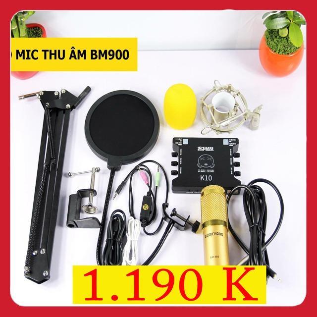 Chiết Khấu Combo Bm900 K10 Full Phụ Kiện Oem