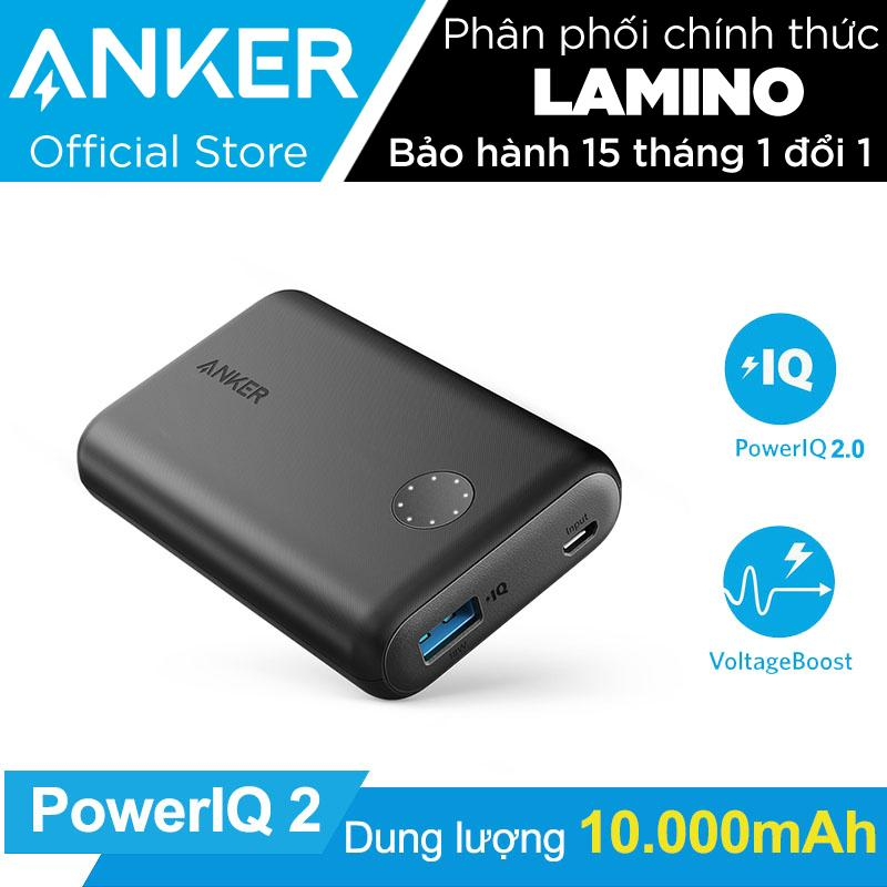 Ôn Tập Pin Sạc Dự Phong Anker Powercore Ii 10000Mah Poweriq 2 18W Output Hang Phan Phối Chinh Thức