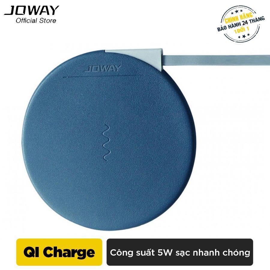 Hình ảnh Sạc không dây Joway WXC02 Chuẩn QI cho iphone8/8plus, iphone X, Android - Hãng phân phối chính thức