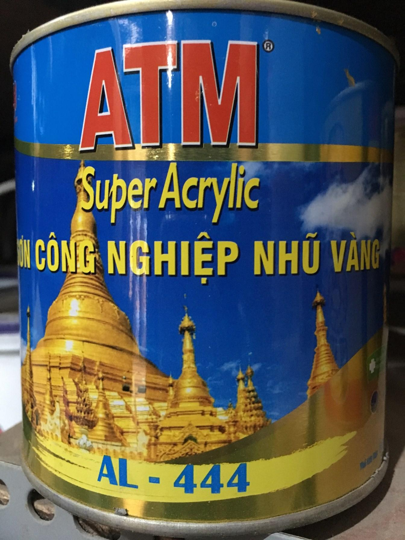 Mua Sơn công nghiệp nhũ vàng ATM AL 444