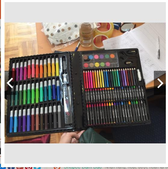 Hình ảnh Bộ màu vẽ 150 món cho bé