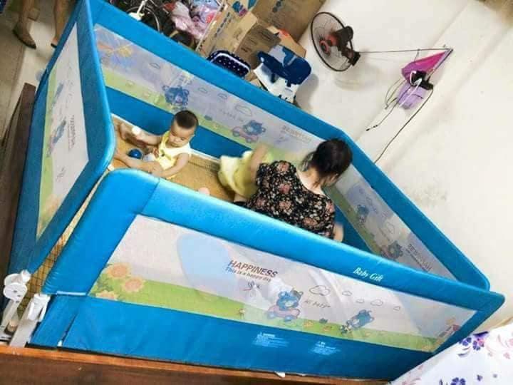 Thanh Chắn Giường 2m Tặng Kẹp đuổi Muỗi Cho Bé Trị Giá 30k By Shopduongminh.