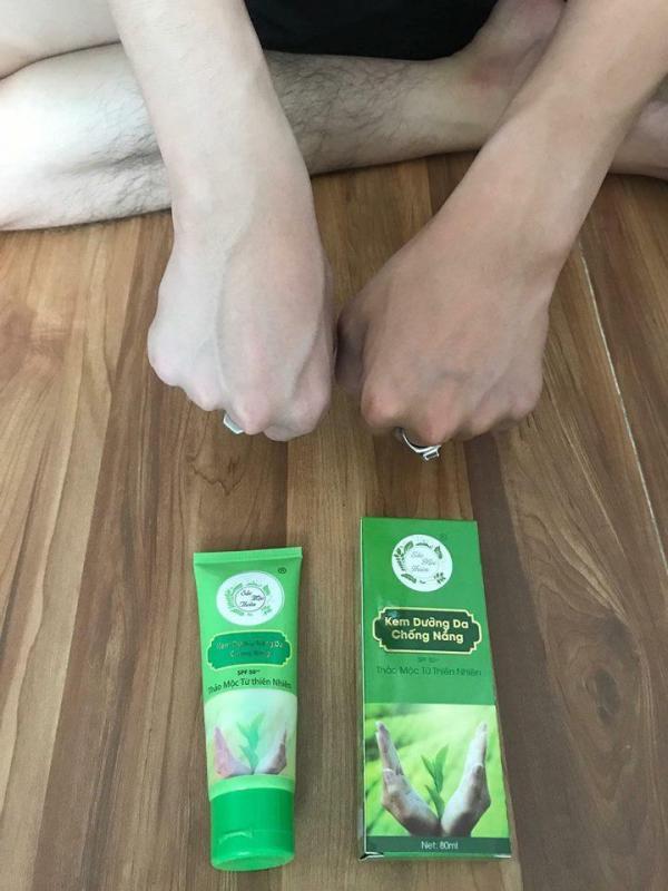 Kem dưỡng da và chống nắng Sắc Mộc Thiên 80gram nhập khẩu