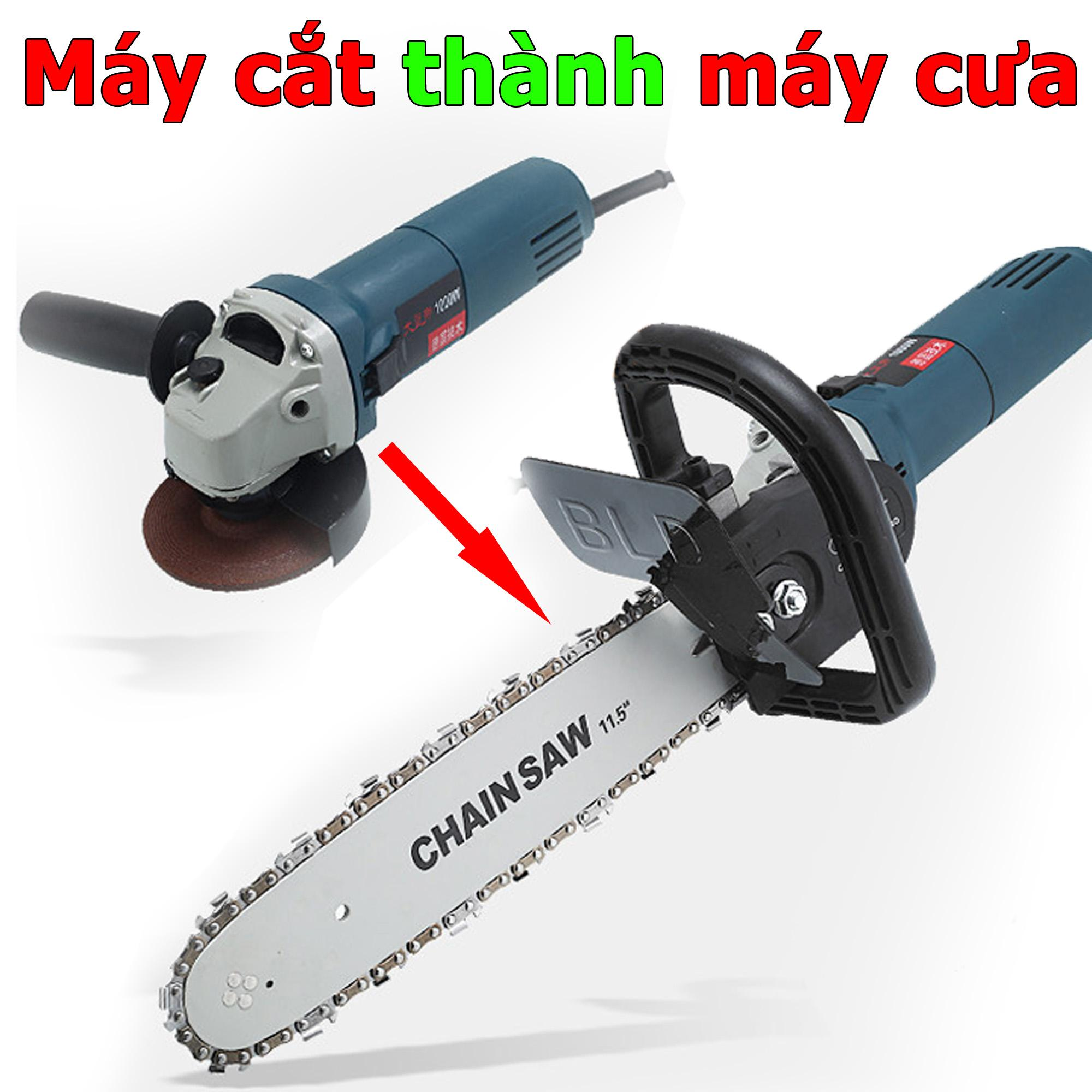 Lưỡi cưa gắn máy cắt cầm tay - Bộ chuyển máy cắt thành máy cưa