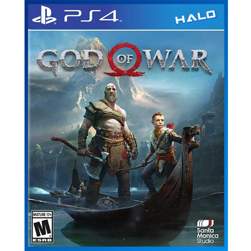 Ôn Tập Đĩa Game Ps4 God Of War Phien Bản Asia Sony Entertainment