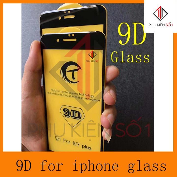 Hình ảnh [Rẻ vô địch] Kính cường lực 9D cho Iphone 6plus/6splus Trắng