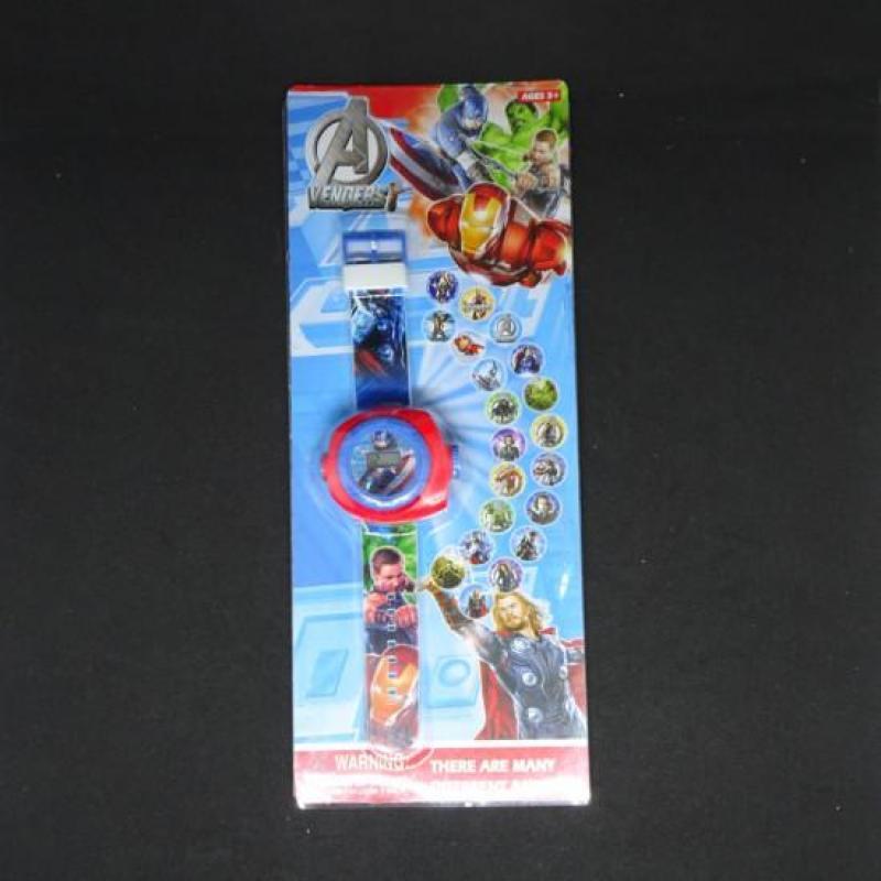 Đồng Hồ Điện Tử Đeo Tay Chiếu Hình 3D WLT22B A Vengers bán chạy