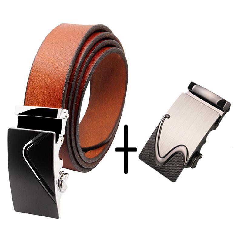 Thắt Lưng Nam Da Bò 100% Minh Tâm MT32 (3 màu tùy chọn) + Tặng kèm 1 đầu khóa