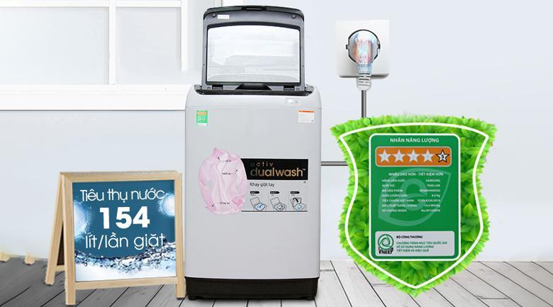 Máy giặt Samsung 10 kg WA10J5710SG/SV chính hãng