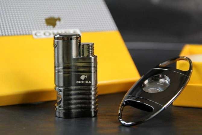 bộ set dao cắt cigar cohiba COB - 61 Nhật Bản