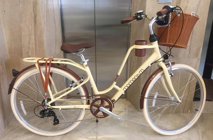 Xe đạp city GIANT INEED LATTE 2019 (Kem)
