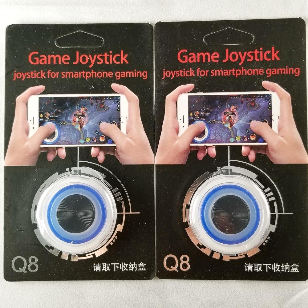 Hình ảnh Nút Bấm Chơi Game Mobile Joystick Q8 Đế Bám Dính Siêu Tốt Nhiều Màu - Màu Xanh Dương