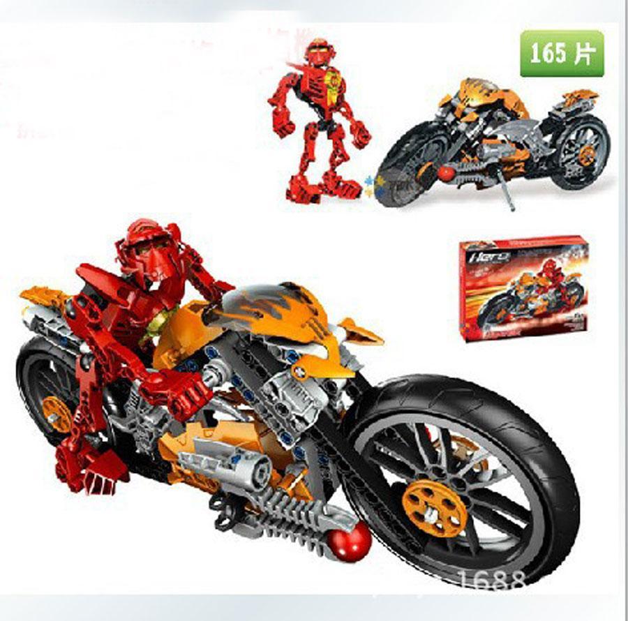 Hình ảnh Mô hình Hero funo Bike đồ chơi lắp ráp