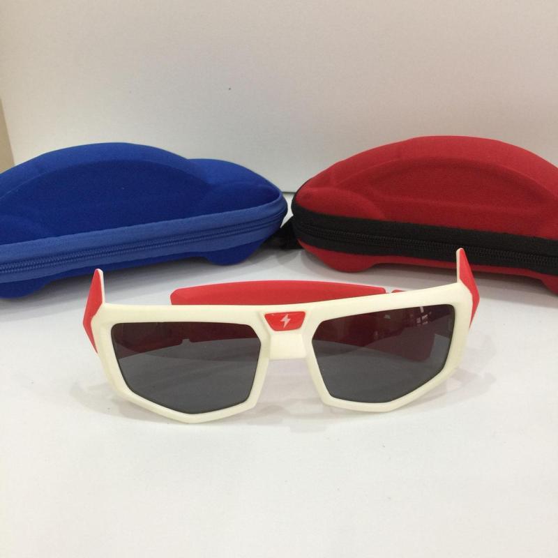 Giá bán [CHẤT CHƯA] Cặp kính mắt dành cho bé yêu đi nắng chống tia UV và bụi bẩn với thiết kế màu sắc bắt mắt G151-09 + Tặng hộp đựng đáng yêu