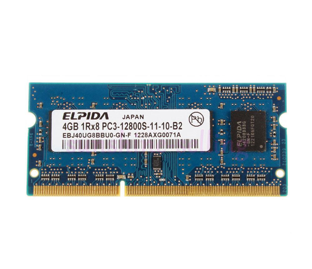 Hình ảnh Bộ nhớ trong Ram Laptop DDR3 4gb bus 1333Mhz - hàng nhập khẩu