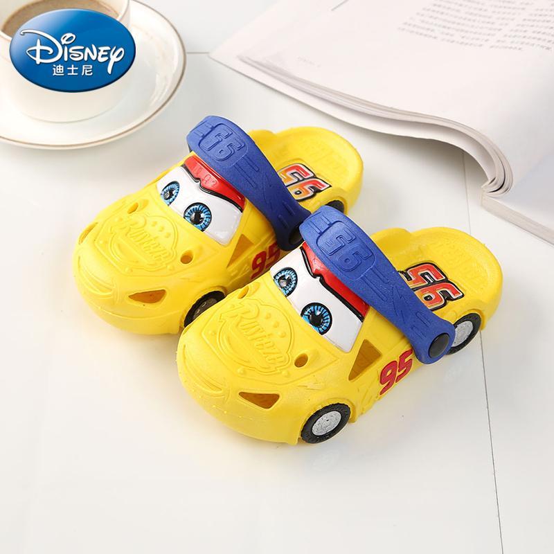 Disney anak-anak sepatu berlubang musim panas Pijakan empuk anak laki-laki sandal Pantai