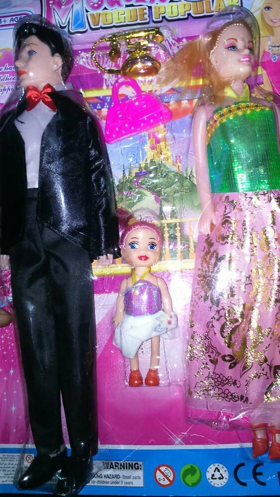 Hình ảnh Vĩ gia đình búp bê nhựa