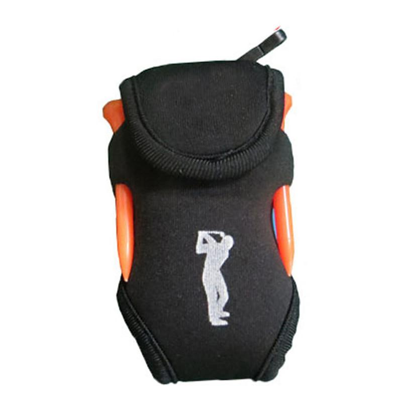 Hossen Bola Golf Pinggang Tas Kemas 2 Bola + 4 Tee Mini Aksesori Portabel Tas By Hossen.