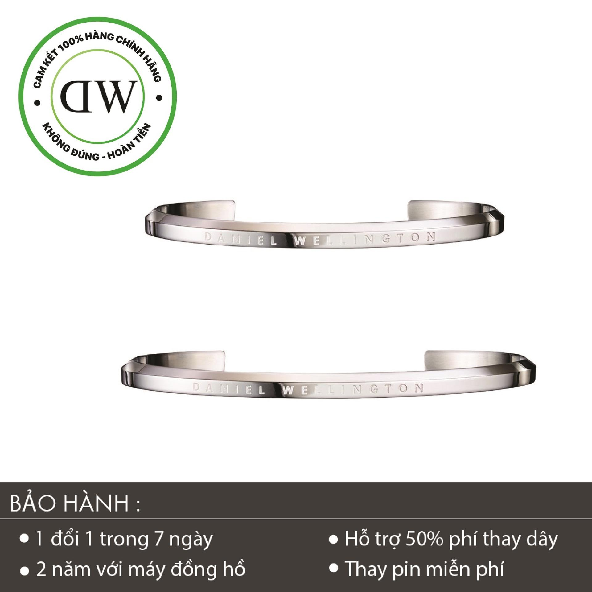 Giá Bán Combo Vong Tay Daniel Wellington Classic Cuff Silver S L Mới Rẻ