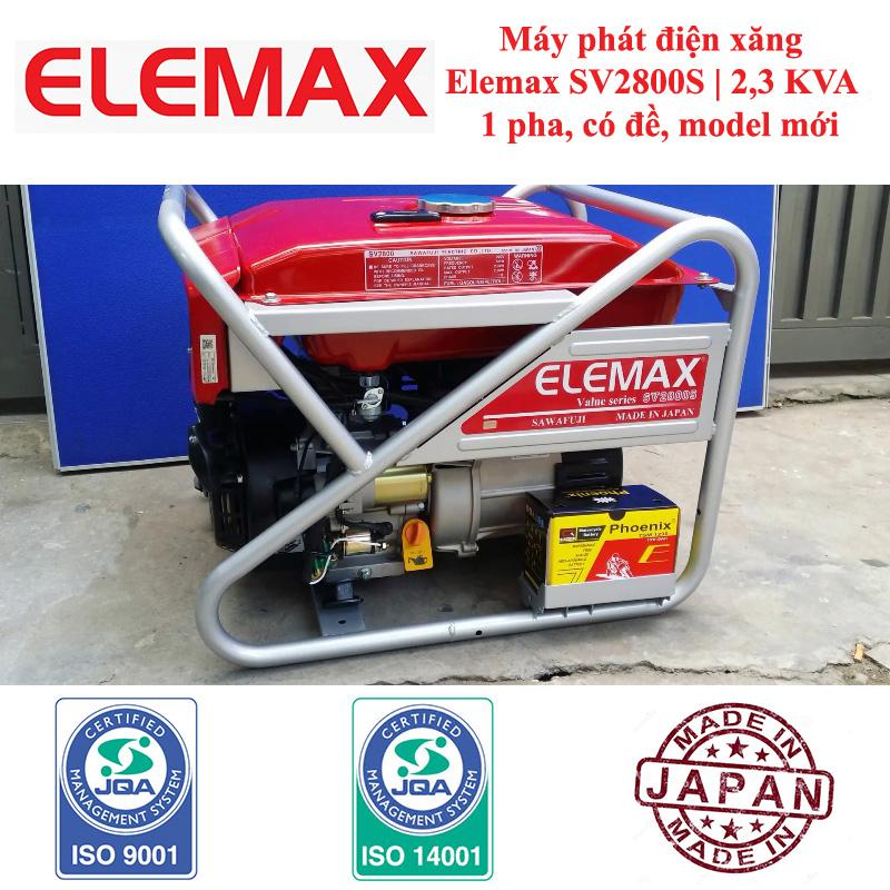 Máy Phát Điện Elemax SV2800S