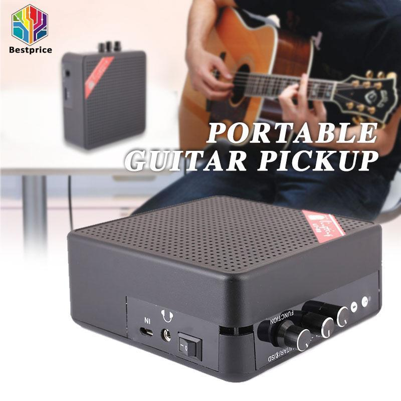 Bestprice Guitar Speaker Guitar Loudspeaker Portable Bluetooth