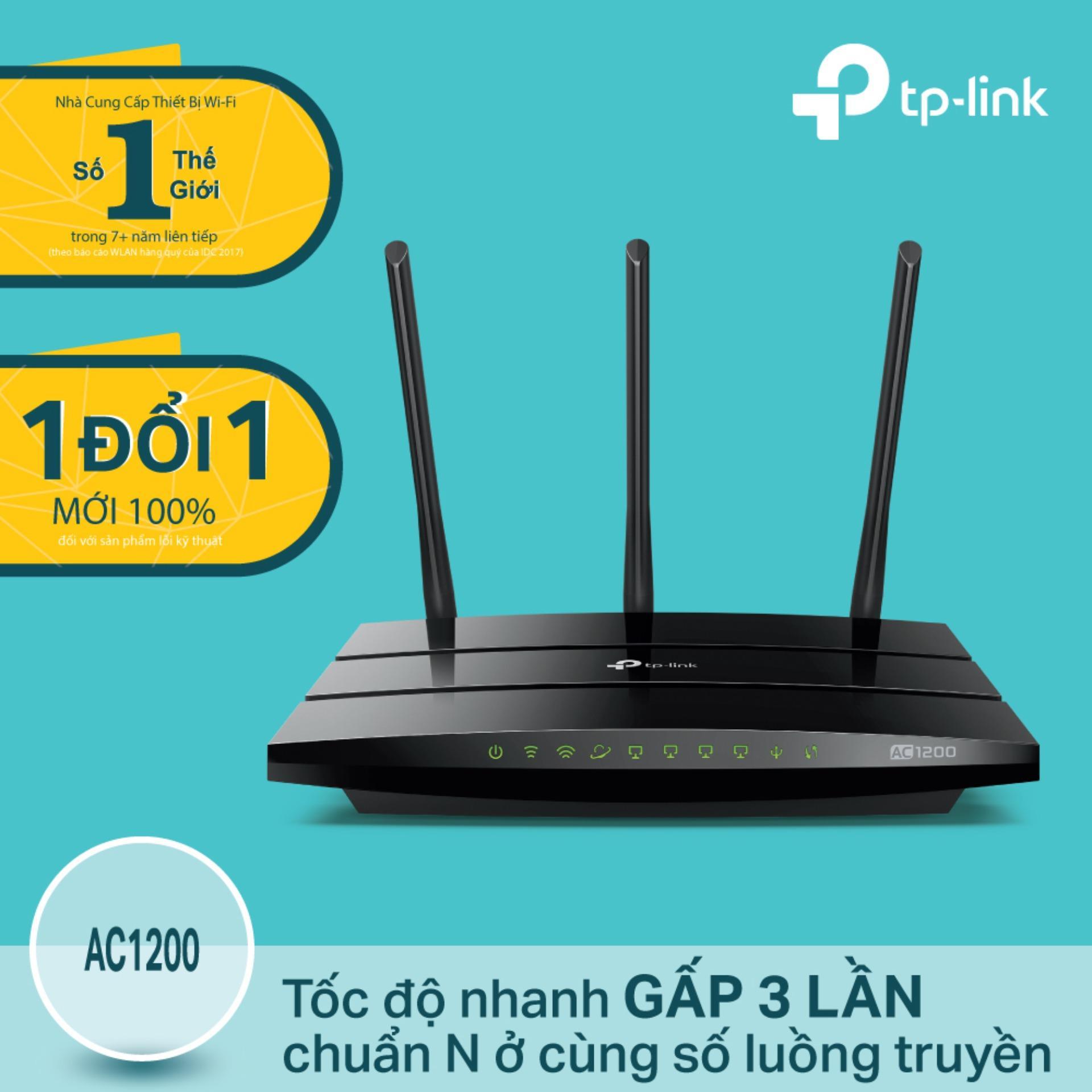 Chiết Khấu Sản Phẩm Tp Link Archer C1200 Router Gigabit Wi Fi Băng Tần Kep Chuẩn Ac 1200Mbps