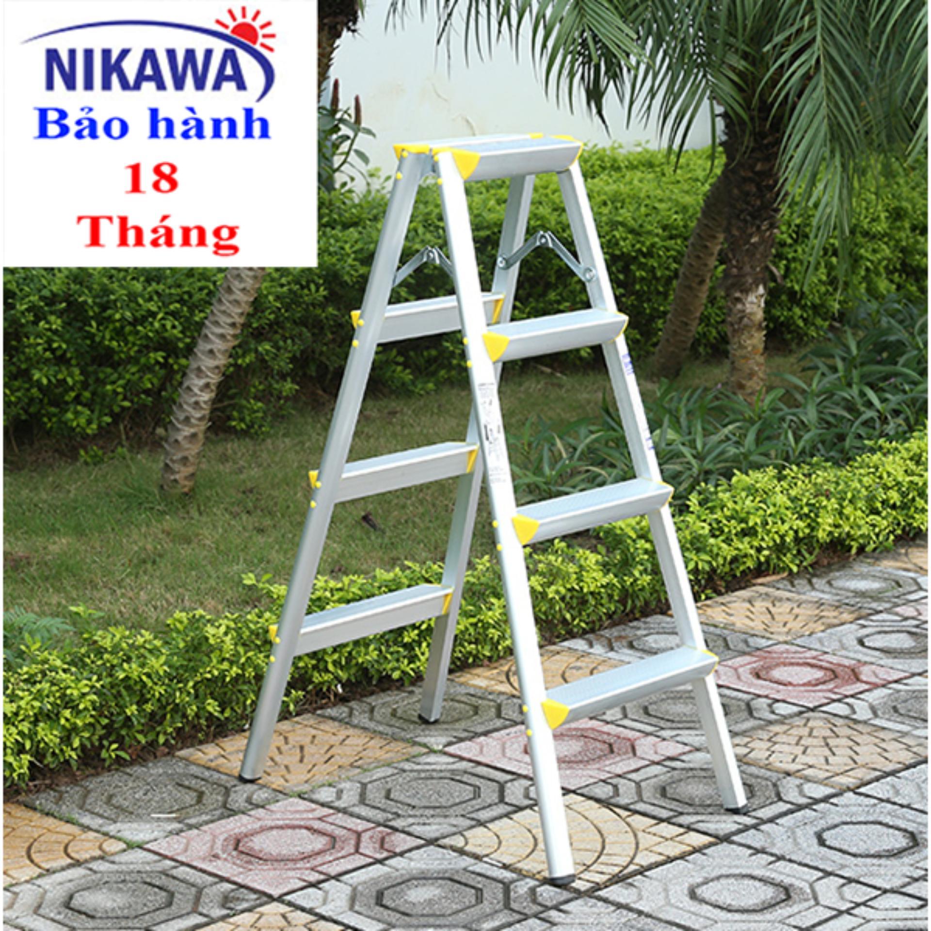 Thang nhôm chữ A NIKAWA NHẬT BẢN NKD04 - CAO 1m