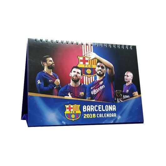 Hình ảnh Lịch để bàn Barcelona 2018