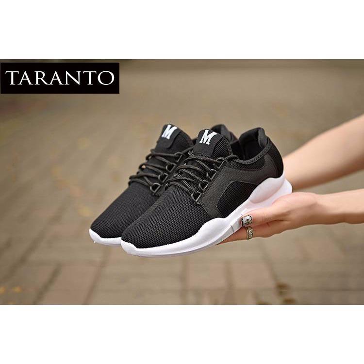 Giá Bán Rẻ Nhất Giay Sneaker Thời Trang Nam Taranto Trt Gttn 20 De Mau Đen