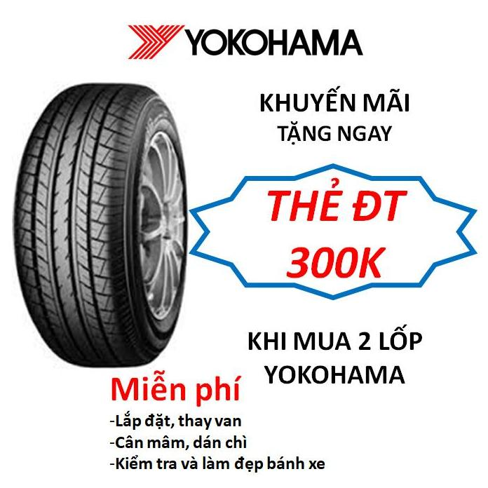 Lốp xe Yokohama Japan 215/55R17 E70B - Miễn phí lắp đặt