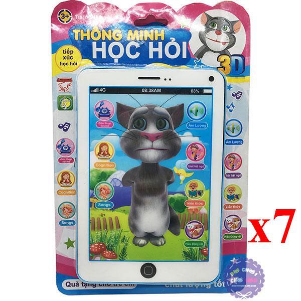 Hình ảnh Sỉ 7 vỉ đồ chơi Ipad mèo Tom Cat 3D thông minh dùng pin có nhạc