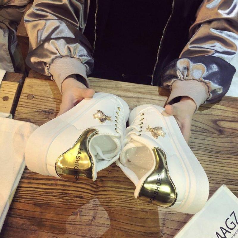 [Junisu_shop] Giày thể thao ONG VÀNG + ONG BẠC  Mẫu thời trang 2018