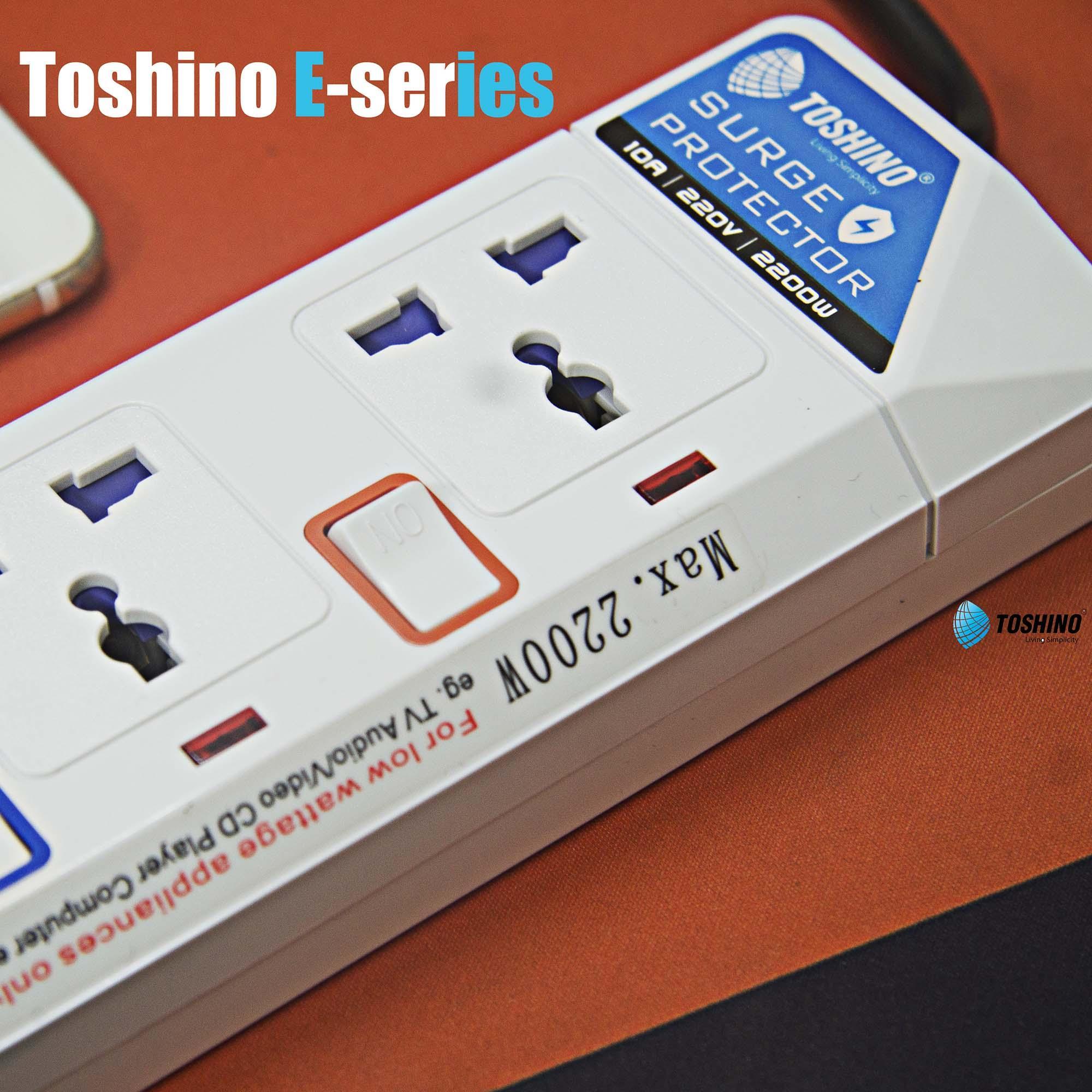 Ổ CẮM ĐIỆN CHỐNG SÉT TOSHINO E-913
