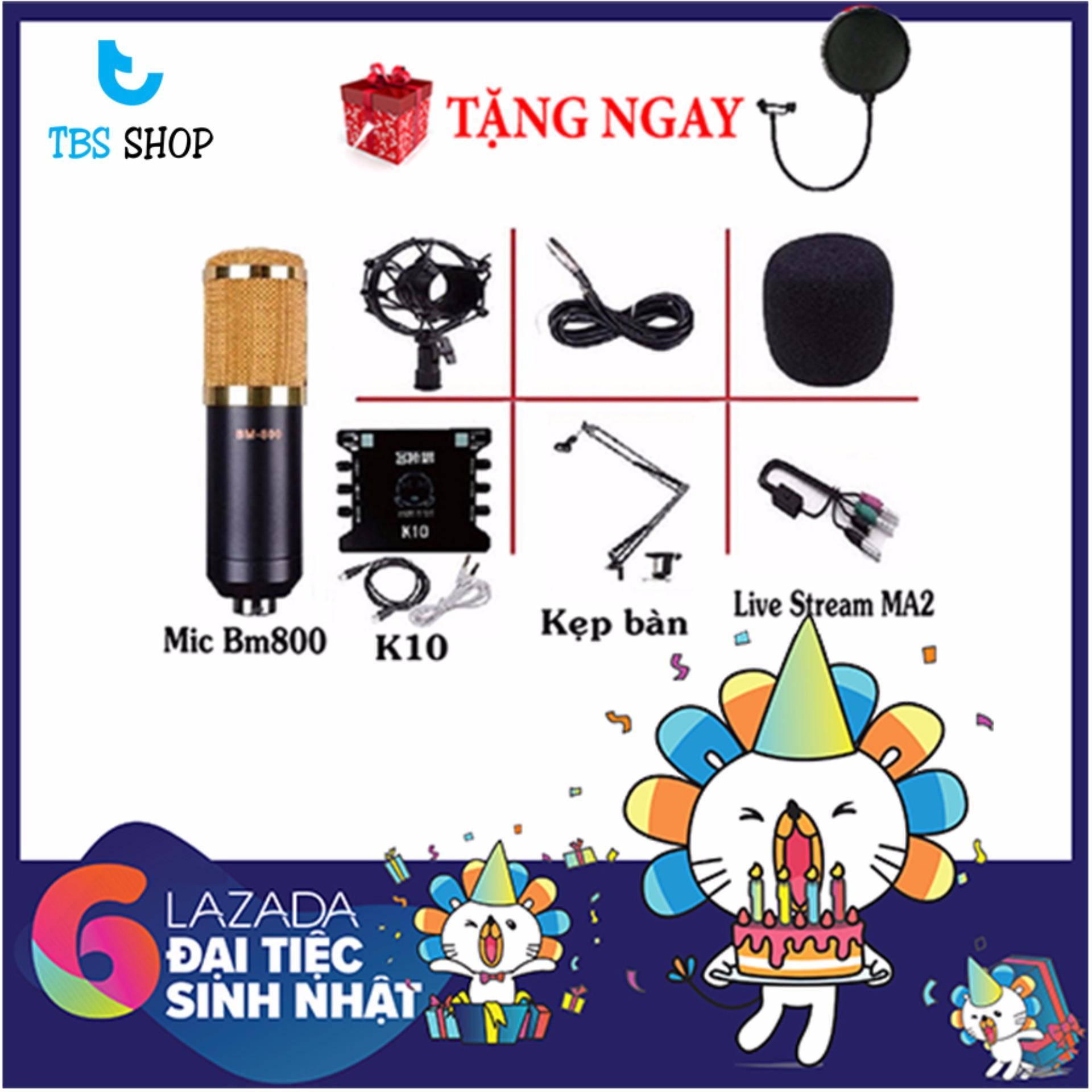 Giá Bán Combo Mic Thu Am Hat Karaoke Chọn Bộ Bm800 Xox Trực Tuyến