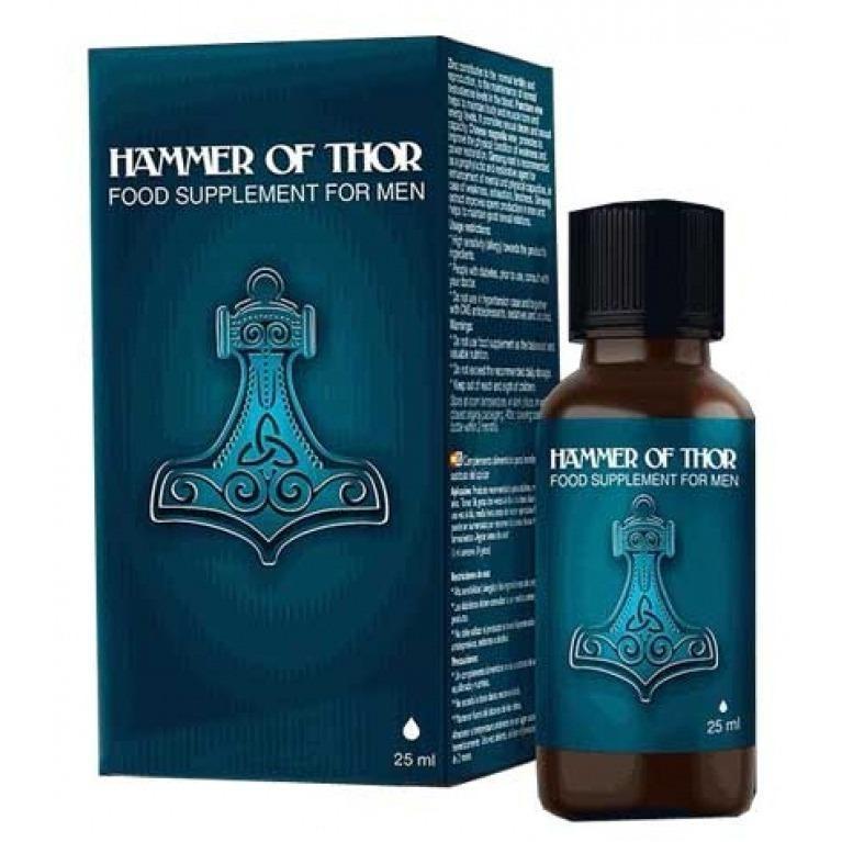 Dưỡng chất Hammer Of Thor tăng cường thời gian quan hệ 25ml - Không hiệu quả trả lại tiền