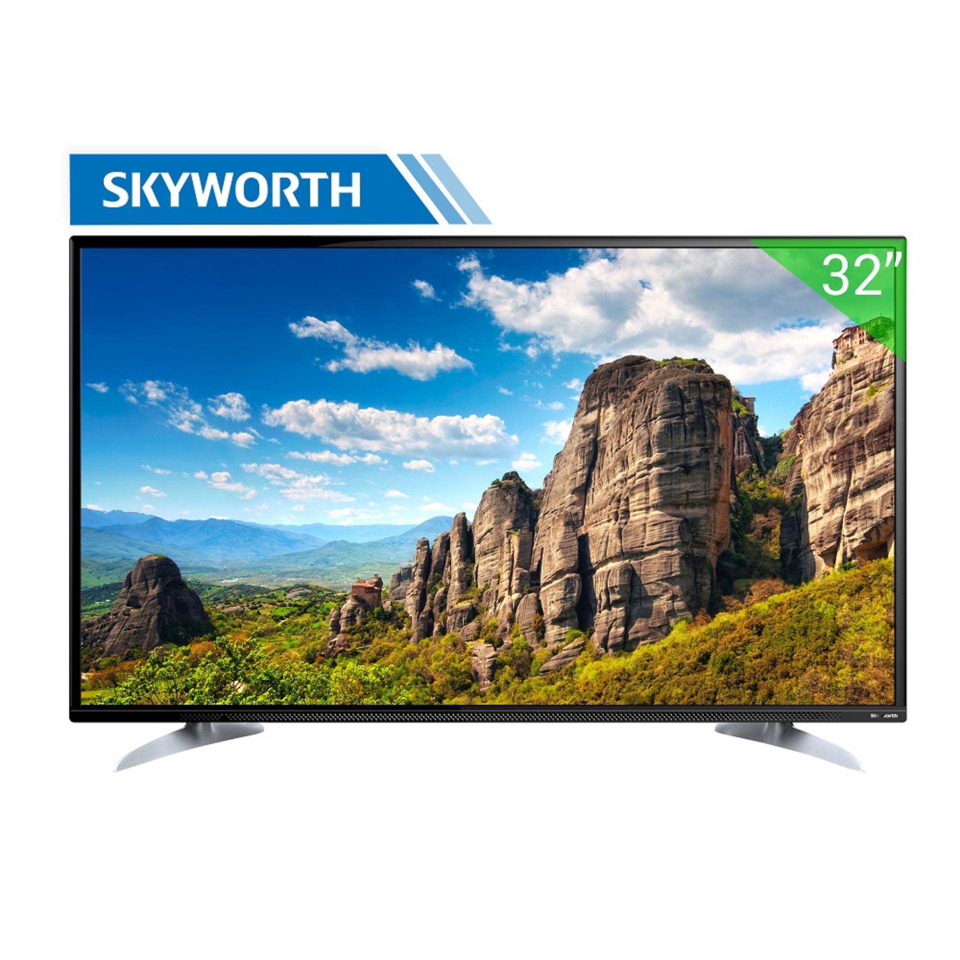Hình ảnh Tivi LED Skyworth 32inch HD - Model 32E350 (Đen)