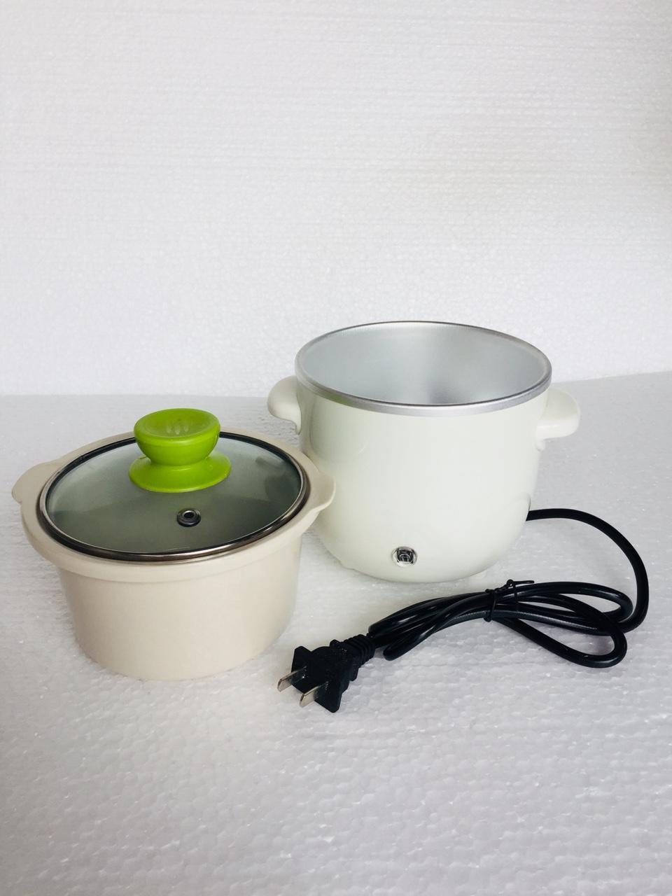 Hình ảnh Nồi Chưng Yến, Tiềm, Nấu Cháo, Soup, hầm chậm... bằng điện 0,7L (nắp thủy tinh)