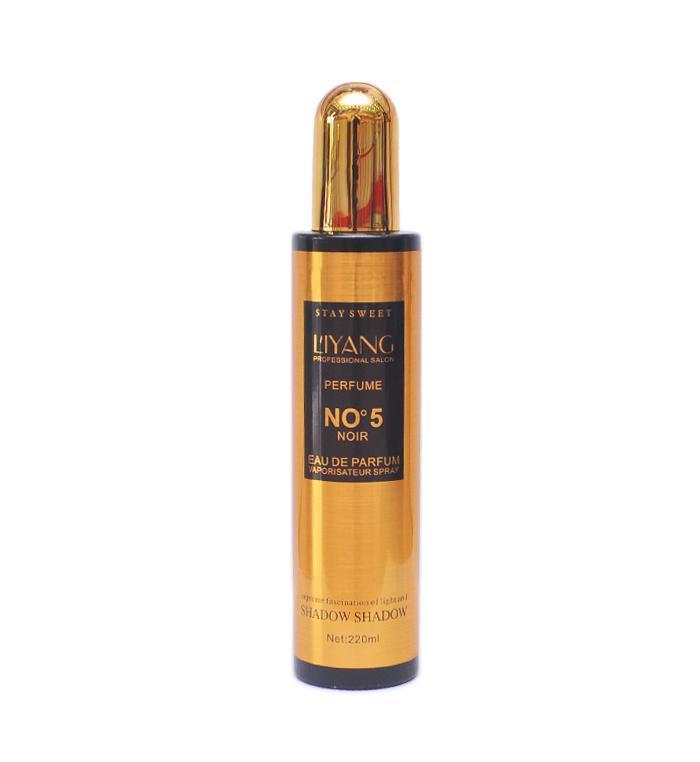 Hình ảnh Xịt dưỡng tóc hương nước hoa Liyang No5 220ml