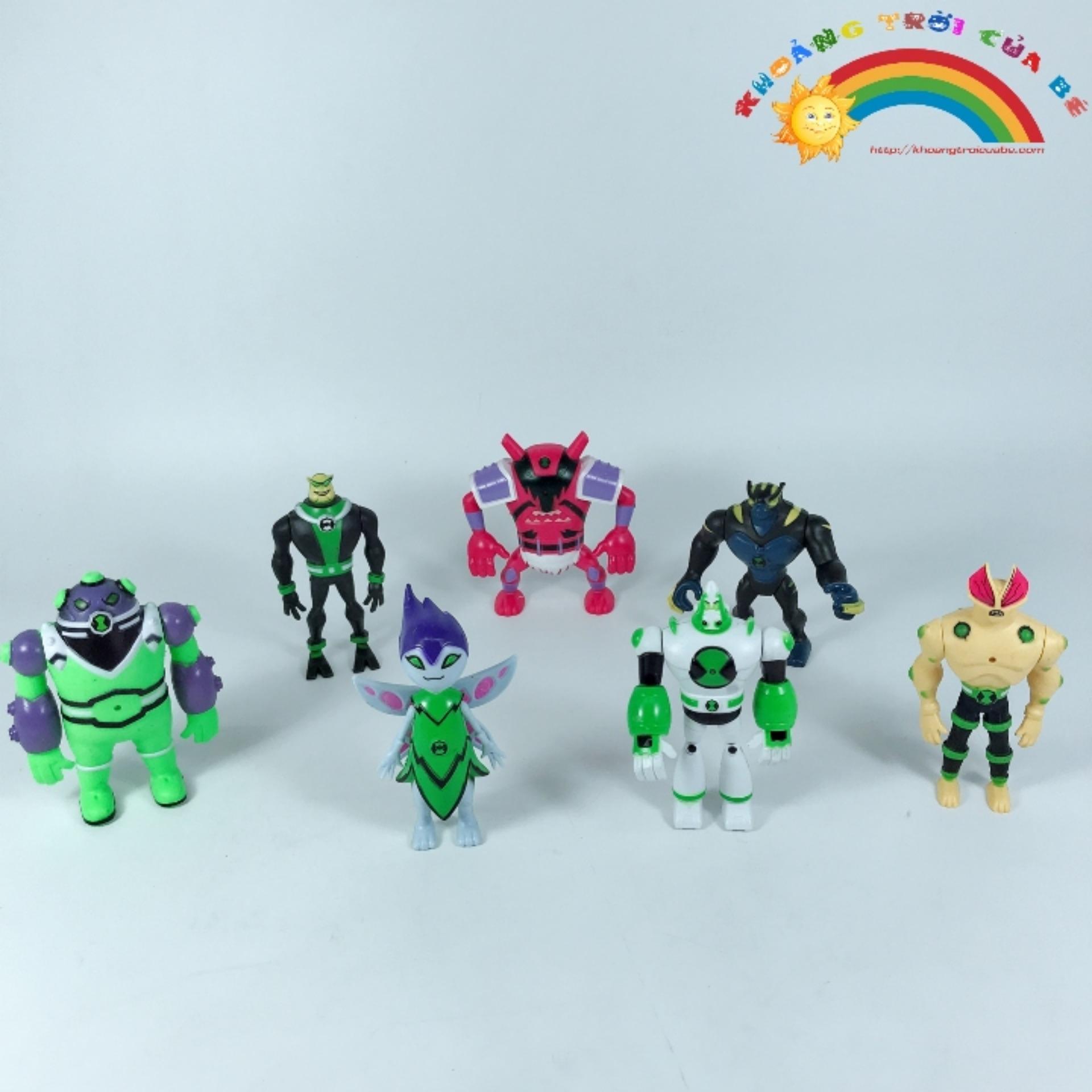 Hình ảnh Ben10- 7 nhân vật người ngoài hành tinh KD663