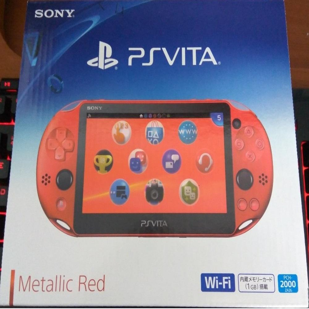 Hình ảnh Máy Chơi Game Sony Playstation PS Vita 2000 và Adaptor Thẻ Nhớ 32G (Hacked)